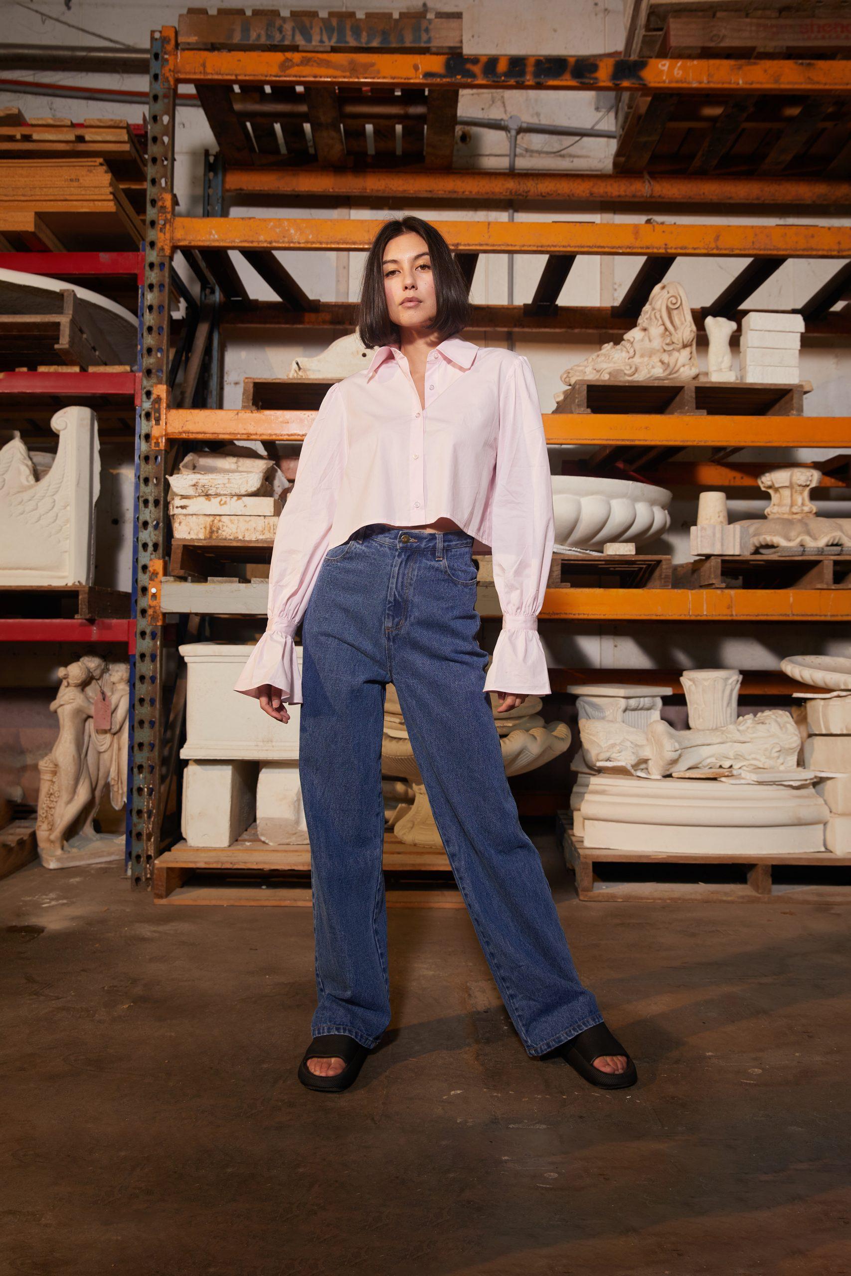 RUBY Ladybug Crop Shirt, Missy Jean