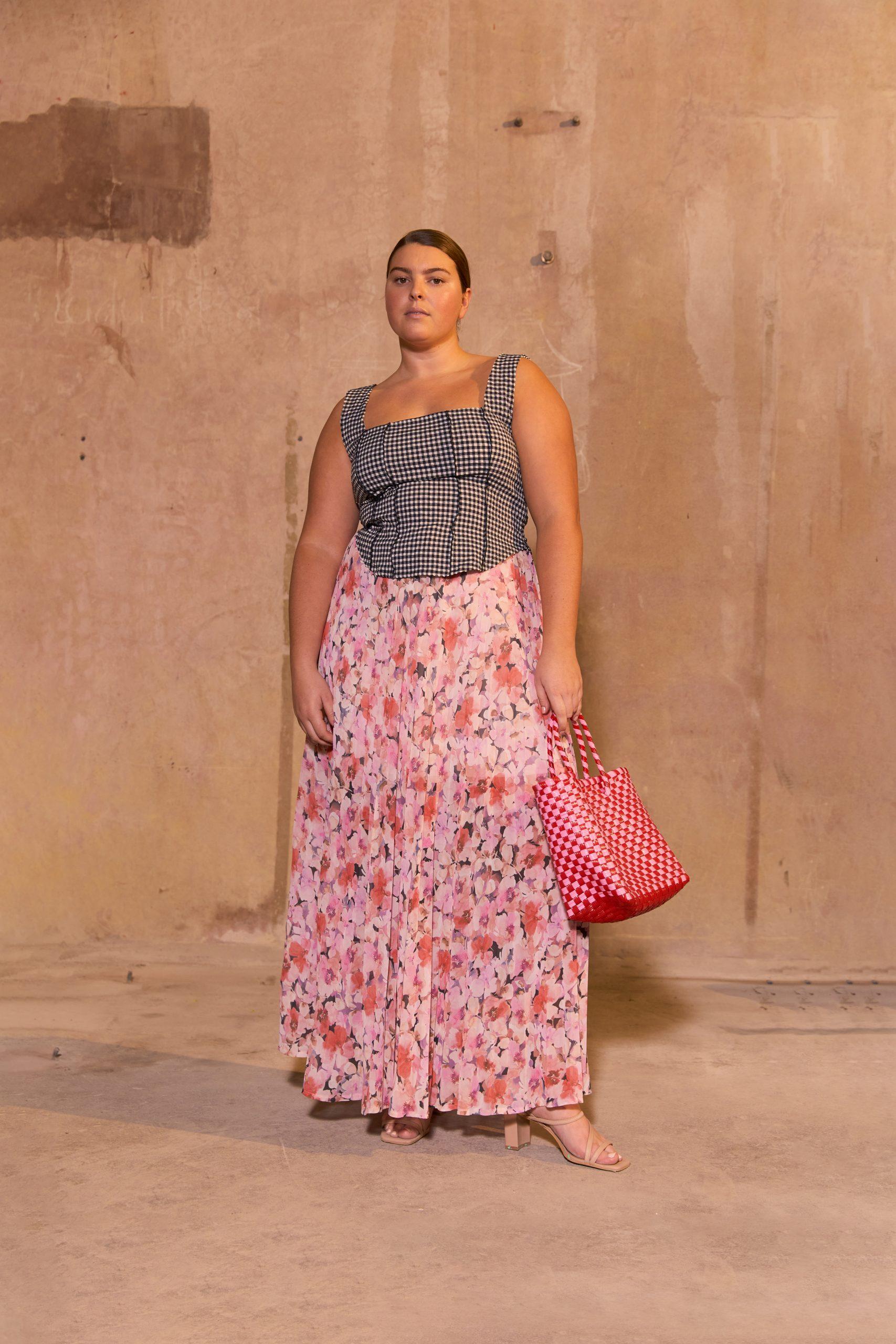 RUBY Vittoria Bodice, Aimee Pleat Skirt