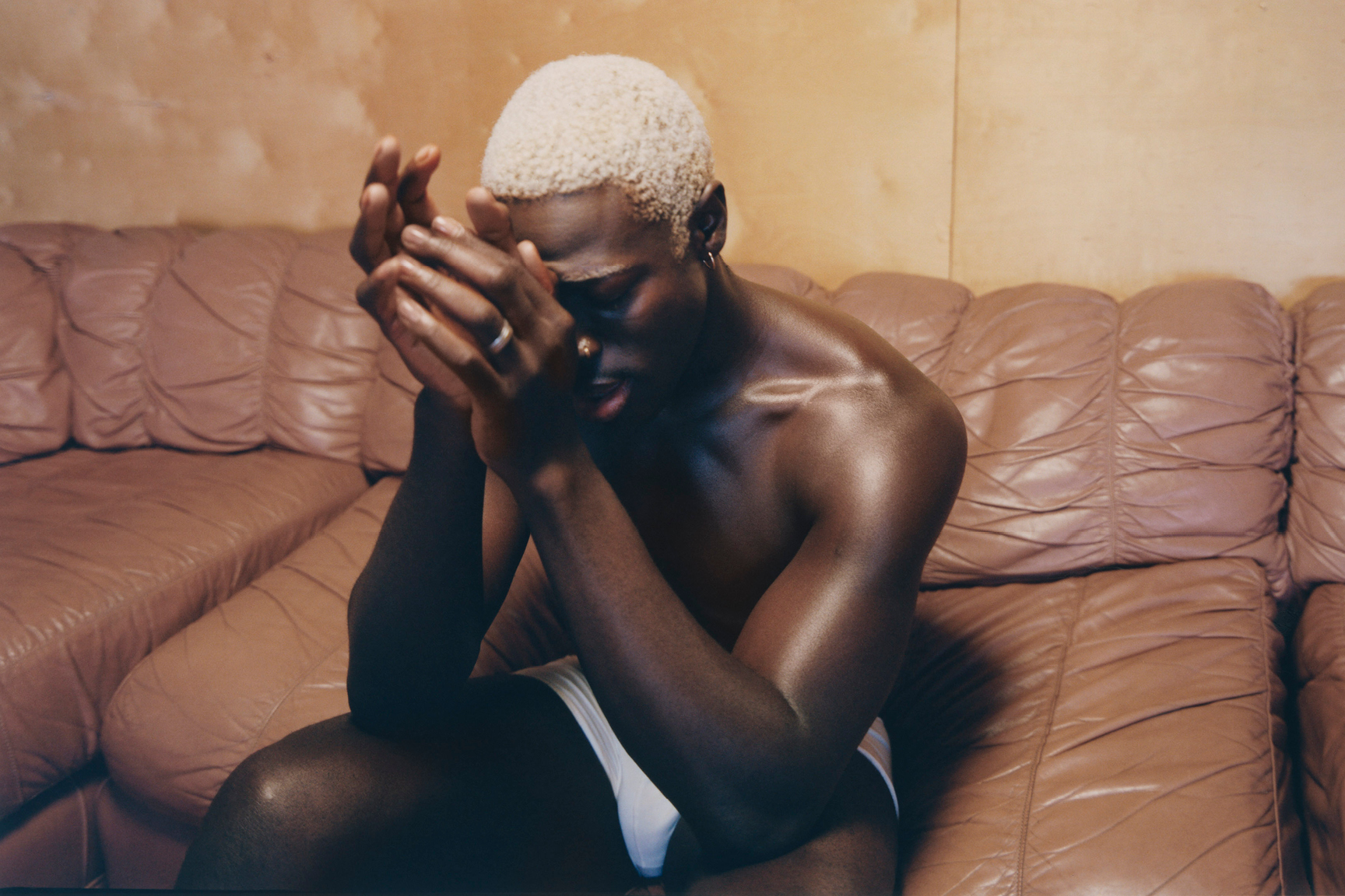Moses Sumney by Renell Medrano