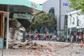 Busy Fashion Precinct Shaken Up By Melbourne Earthquake
