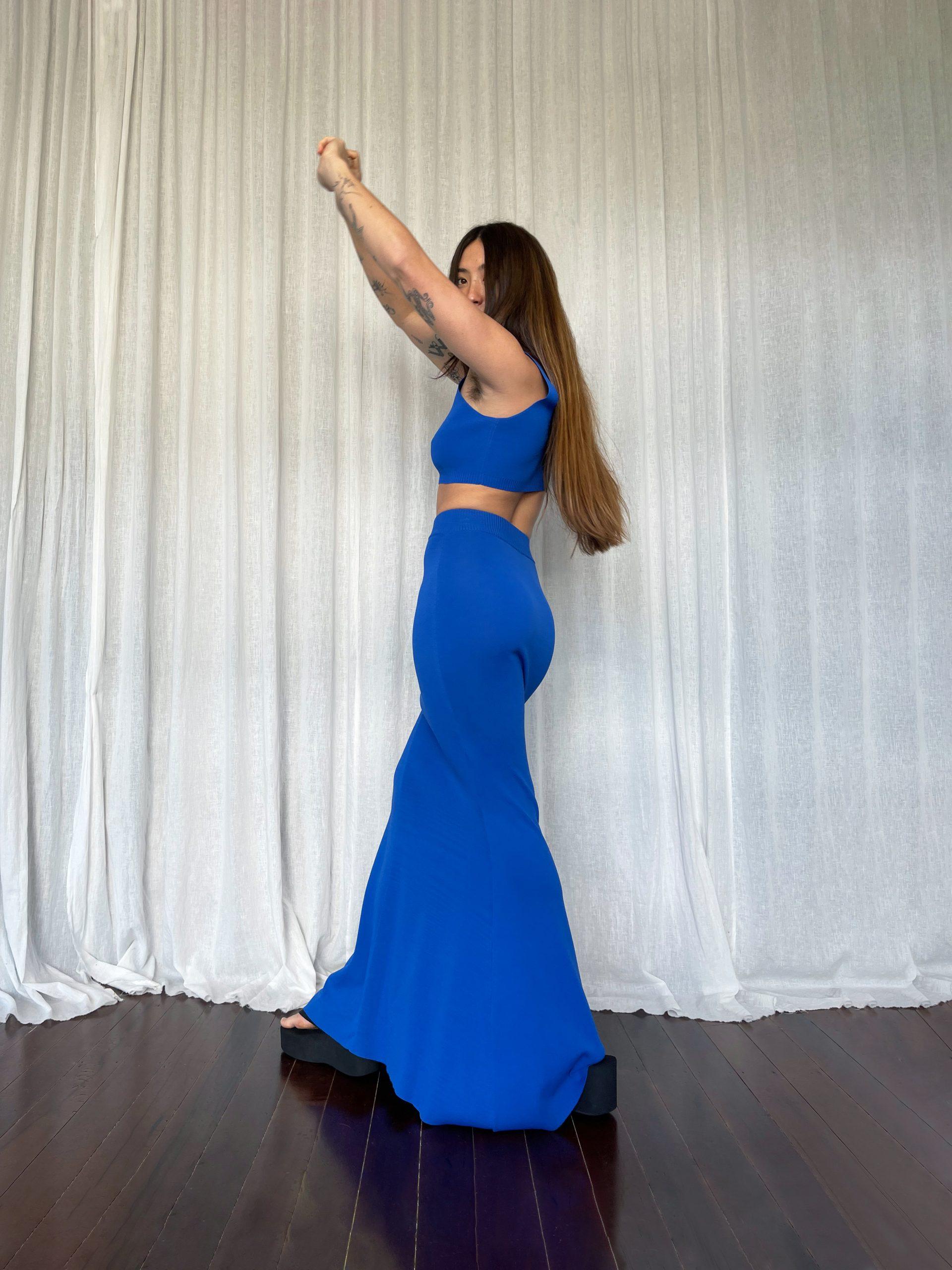 RUBY_Mermaid Bralette, Mermaid Skirt Back