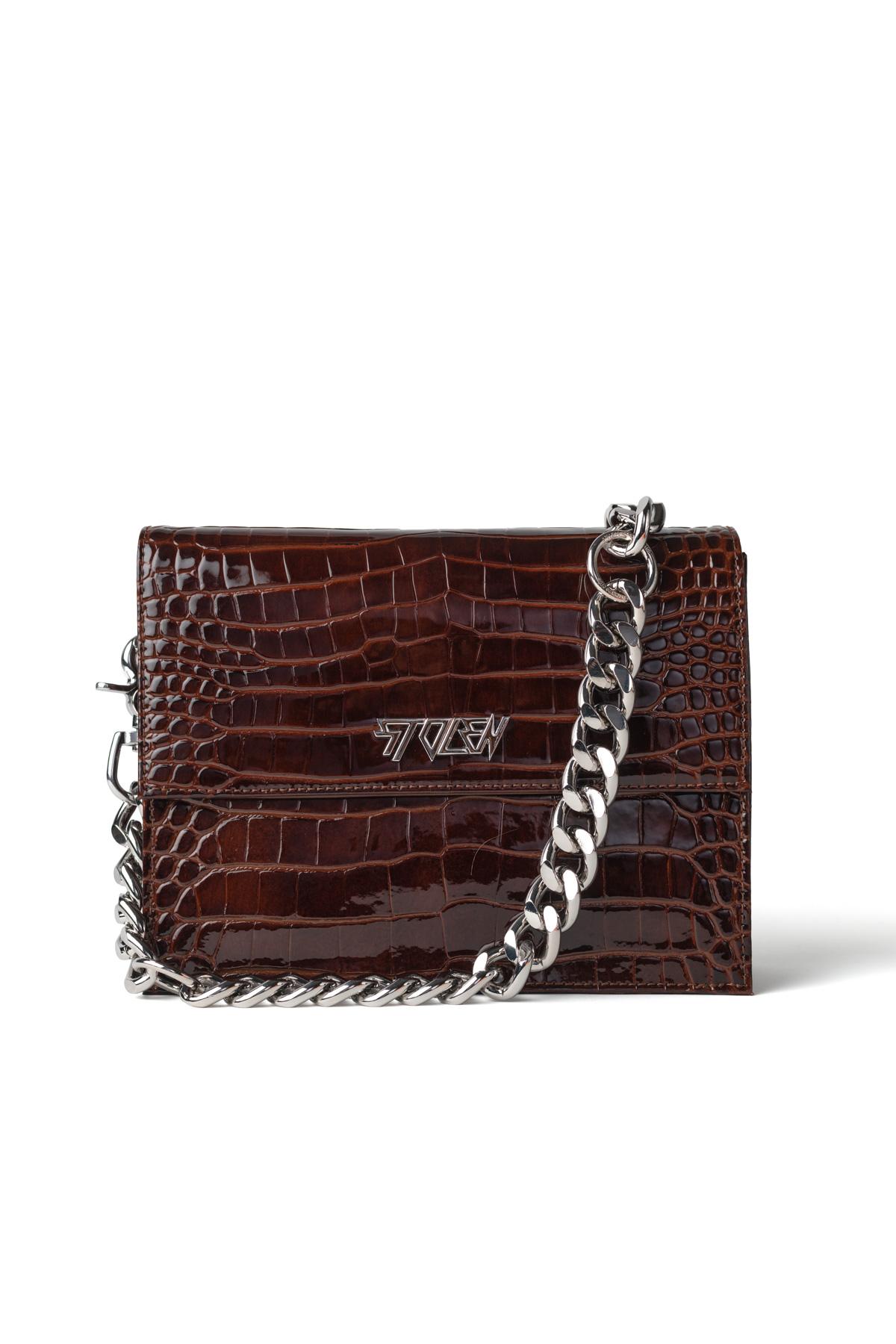 B041 Big Trouble Bag Auburn RRP$489