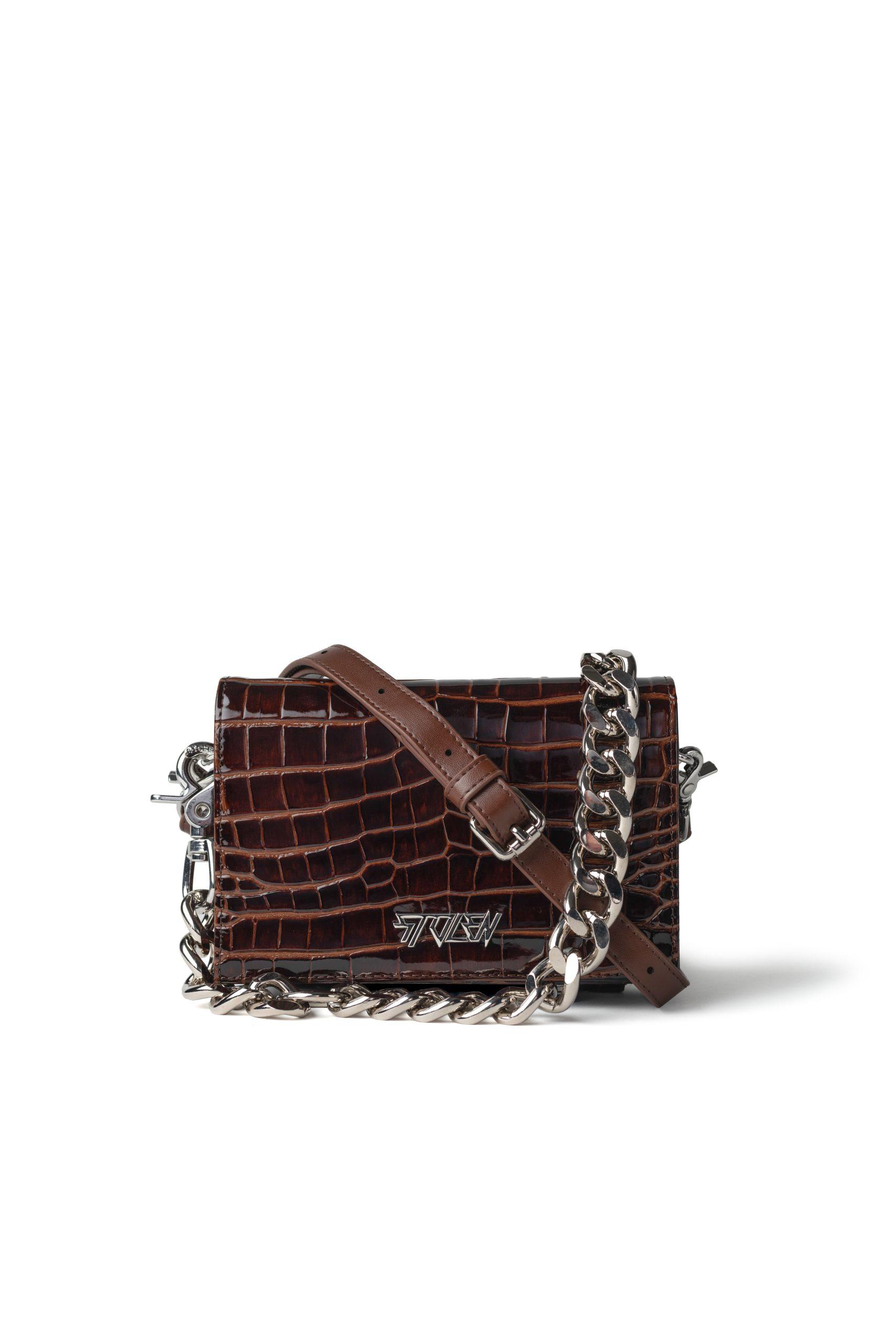 B043 Little Trouble Bag Auburn RRP $379