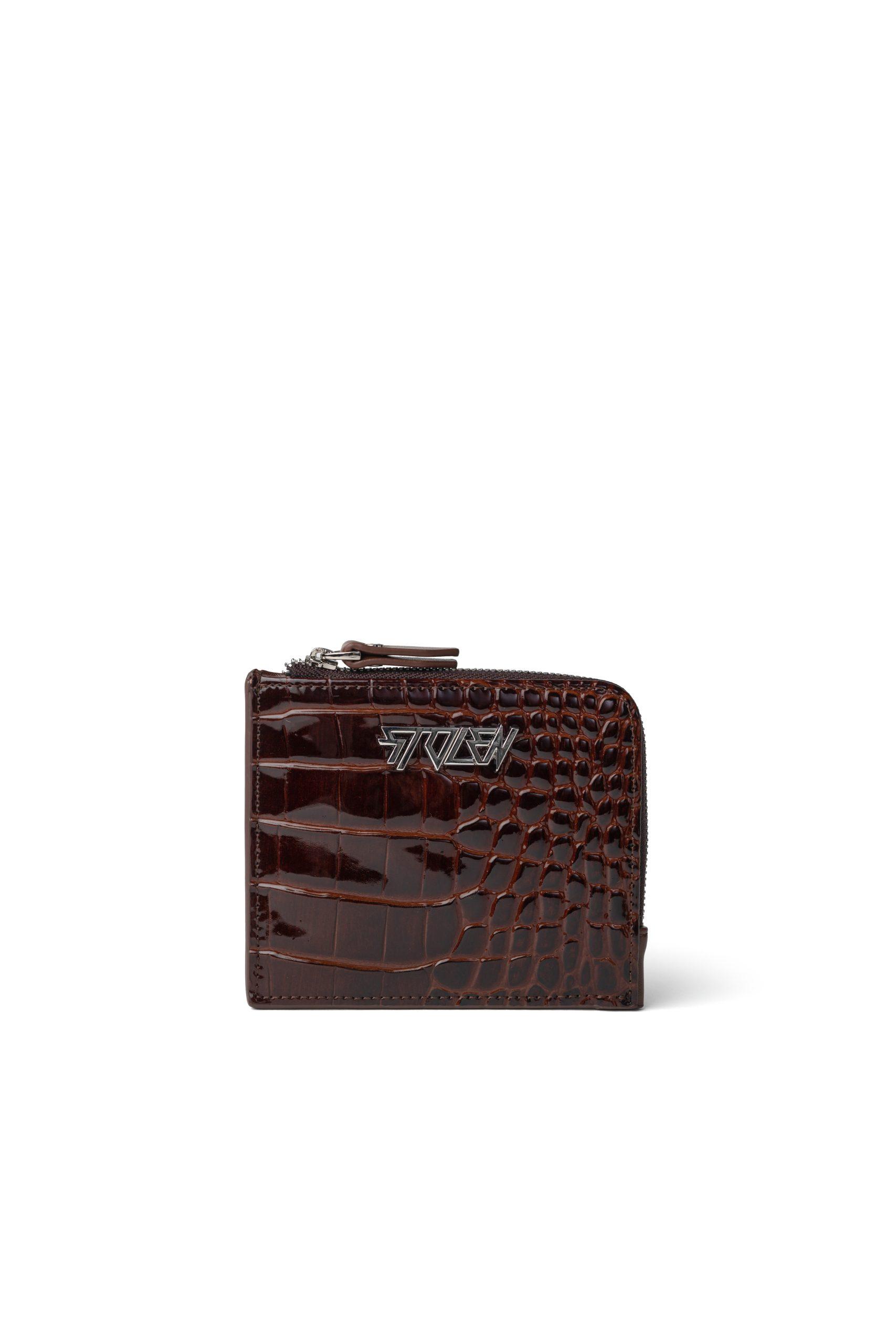 B046A Little Trouble Wallet Auburn RRP $149