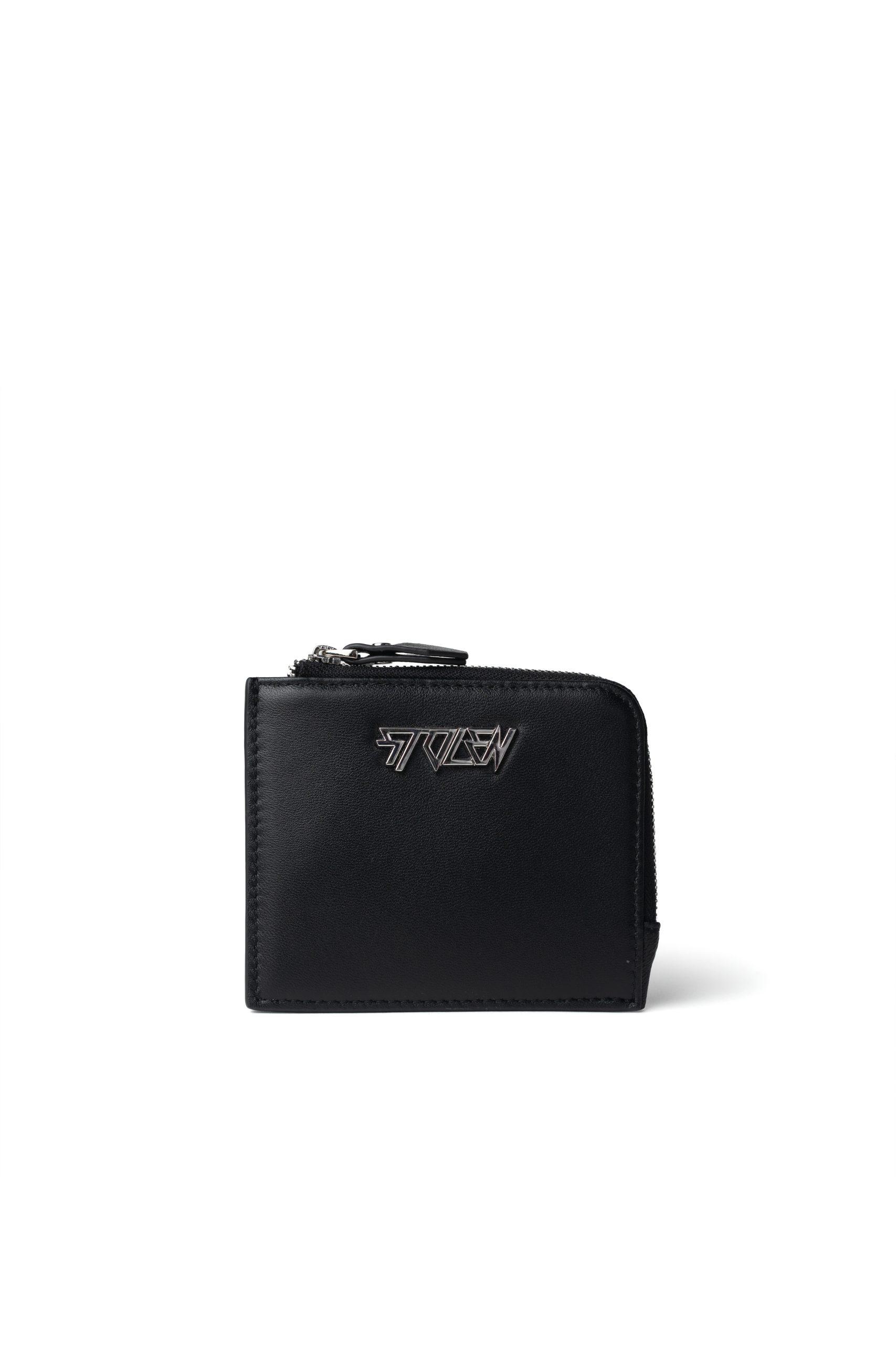 B046F Little Trouble Wallet Black RRP $149