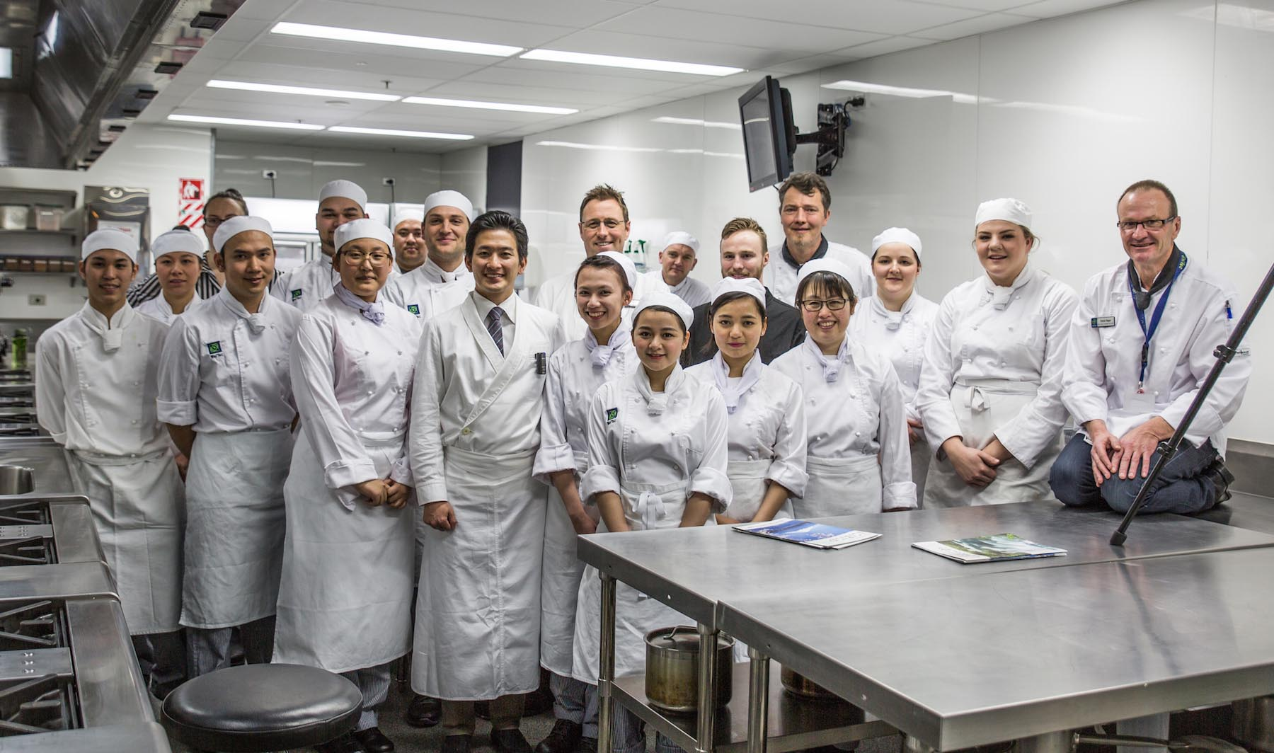 Chef Shares Talent With Students