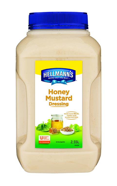 HELLMANN'S Honey Mustard Dressing 2D sml