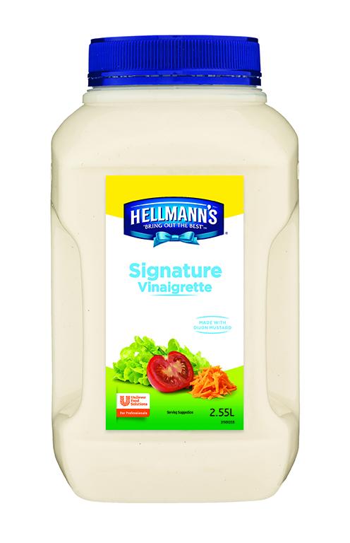 HELLMANN'S Signature Vinaigrette 2D sml