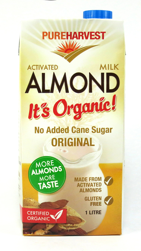 Pure Harvest Activated Almond Milk 1L sml